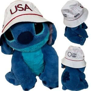 Roots Official USA Olympic Bucket Hat from 2002